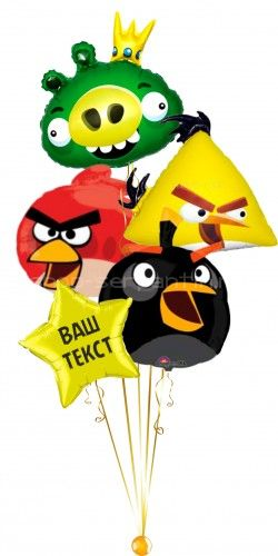 Букет Angry birds